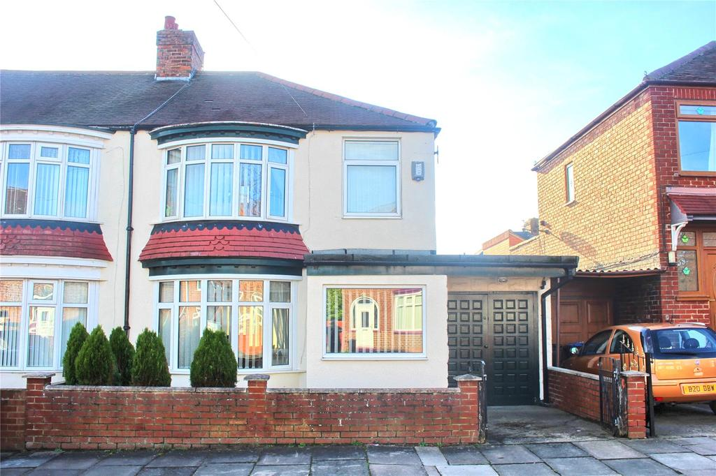 3 Bedrooms Semi Detached House for sale in Vincent Road, Linthorpe