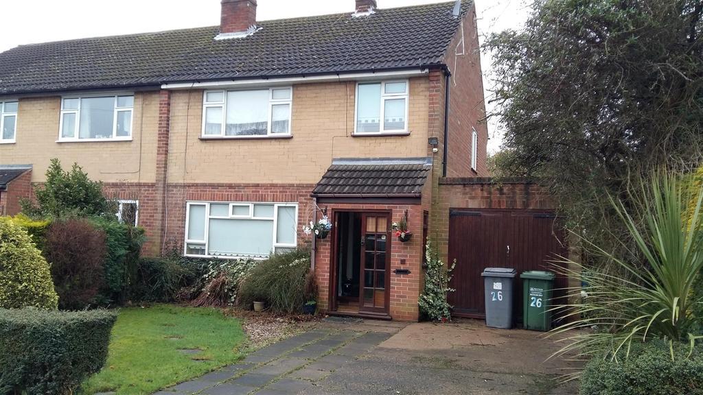 3 Bedrooms Semi Detached House for sale in Comberton Avenue, Kidderminster
