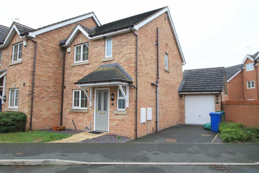 2 Bedrooms Semi Detached House for sale in Wynnstay Gardens, Ruabon, Wrexham