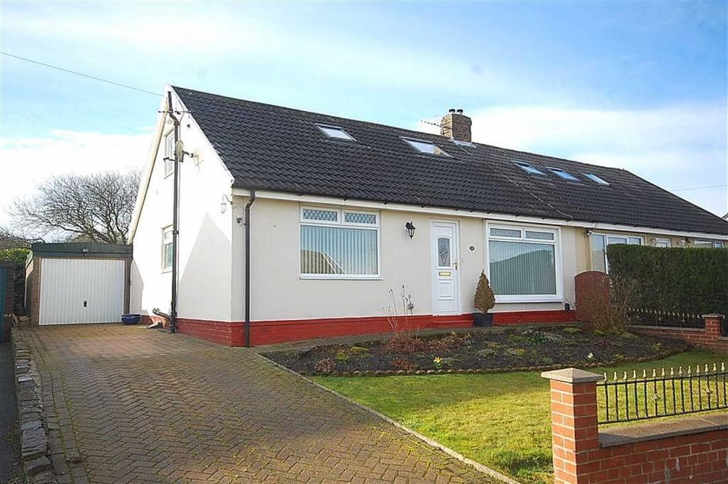 3 Bedrooms Semi Detached House for sale in Broadley Grove, Moorend Road, Halifax, HX2