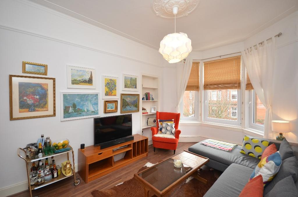 1 Bedroom Flat for sale in Rannoch Street, Flat 2/1, Cathcart, Glasgow, G44 4DQ