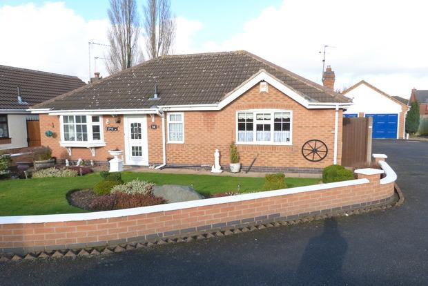 3 Bedrooms Detached Bungalow for sale in Lindum Close, Syston, Leicester, LE7
