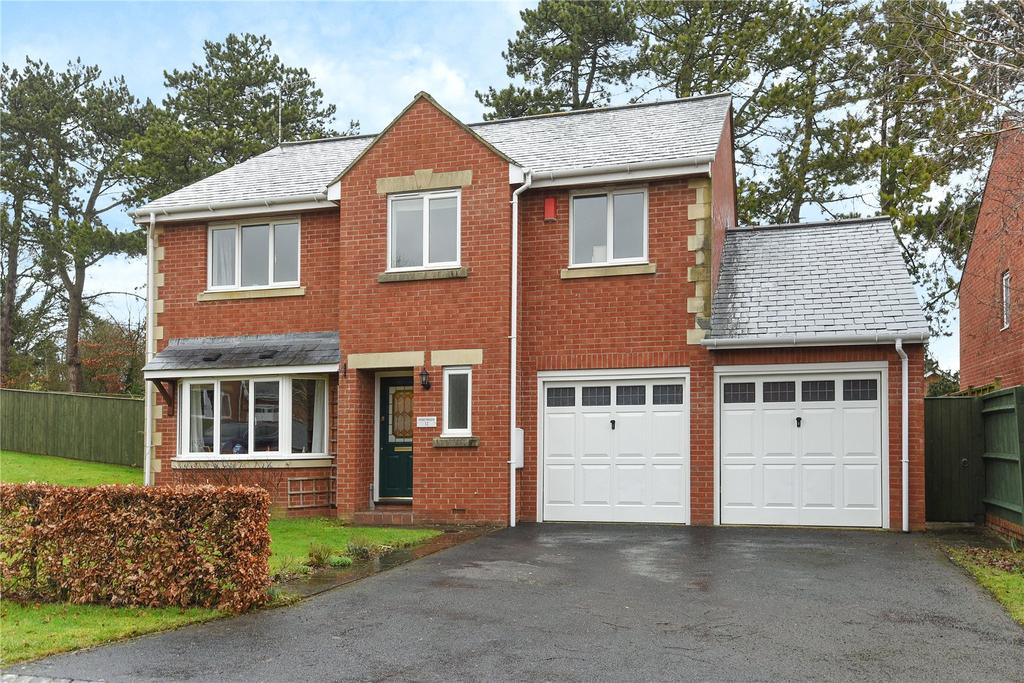 5 Bedrooms Detached House for sale in Farriers Field, Upavon, Pewsey, Wiltshire