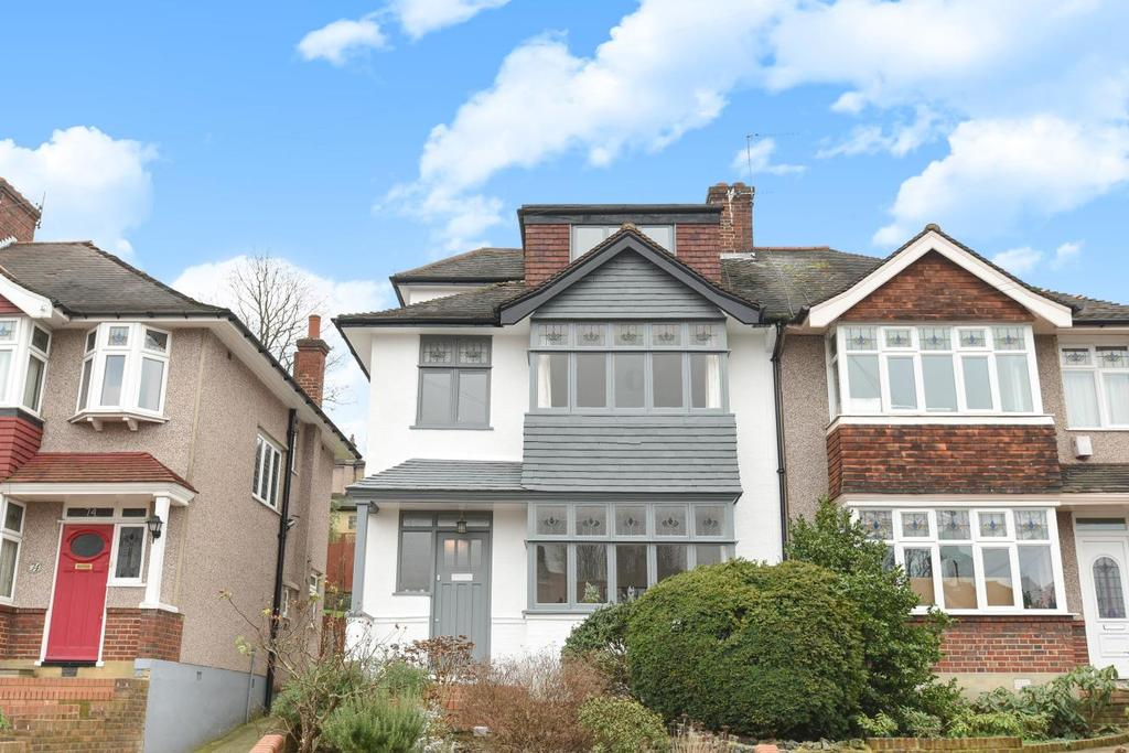 5 Bedrooms Semi Detached House for sale in Westwood Park, Forest Hill, SE23