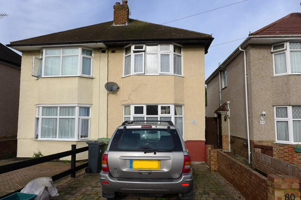 2 Bedrooms Semi Detached House for sale in Hamilton Road, Feltham
