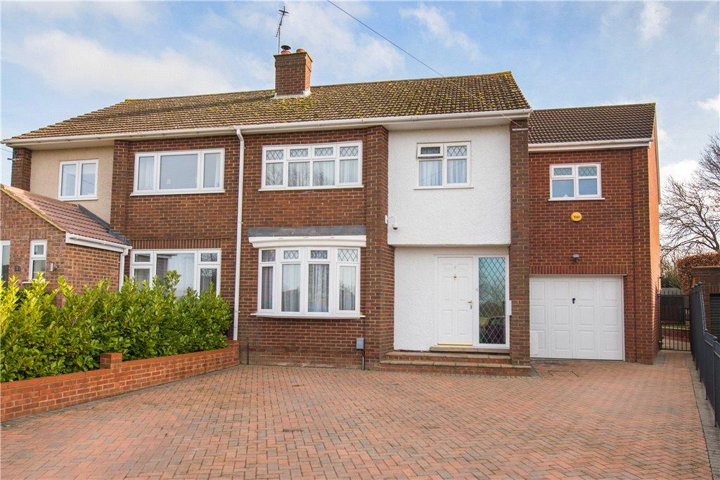 4 Bedrooms Semi Detached House for sale in Russell Crescent, Maulden, Bedford, Bedfordshire