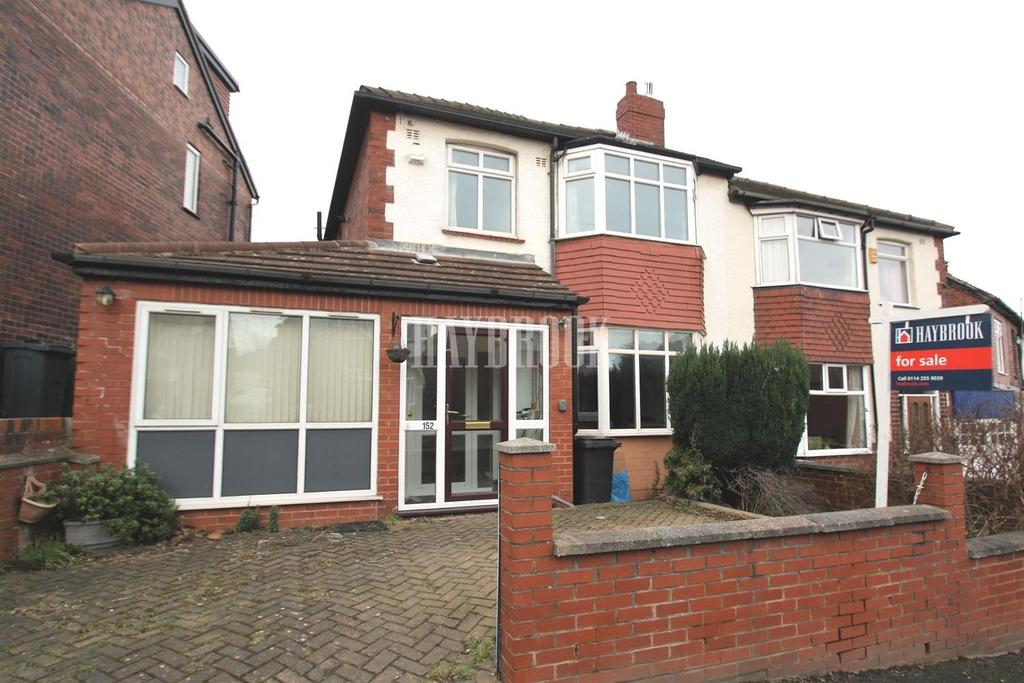 3 Bedrooms Semi Detached House for sale in Cliffefield Road, S8