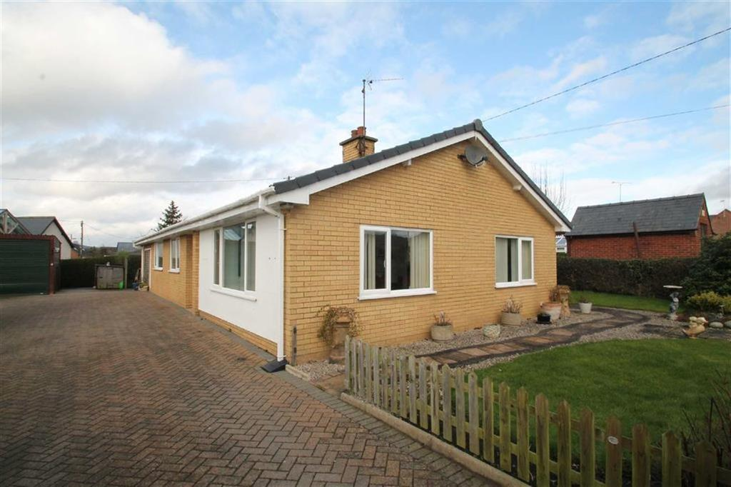 3 Bedrooms Detached Bungalow for sale in Leighton Road, Welshpool, Powys