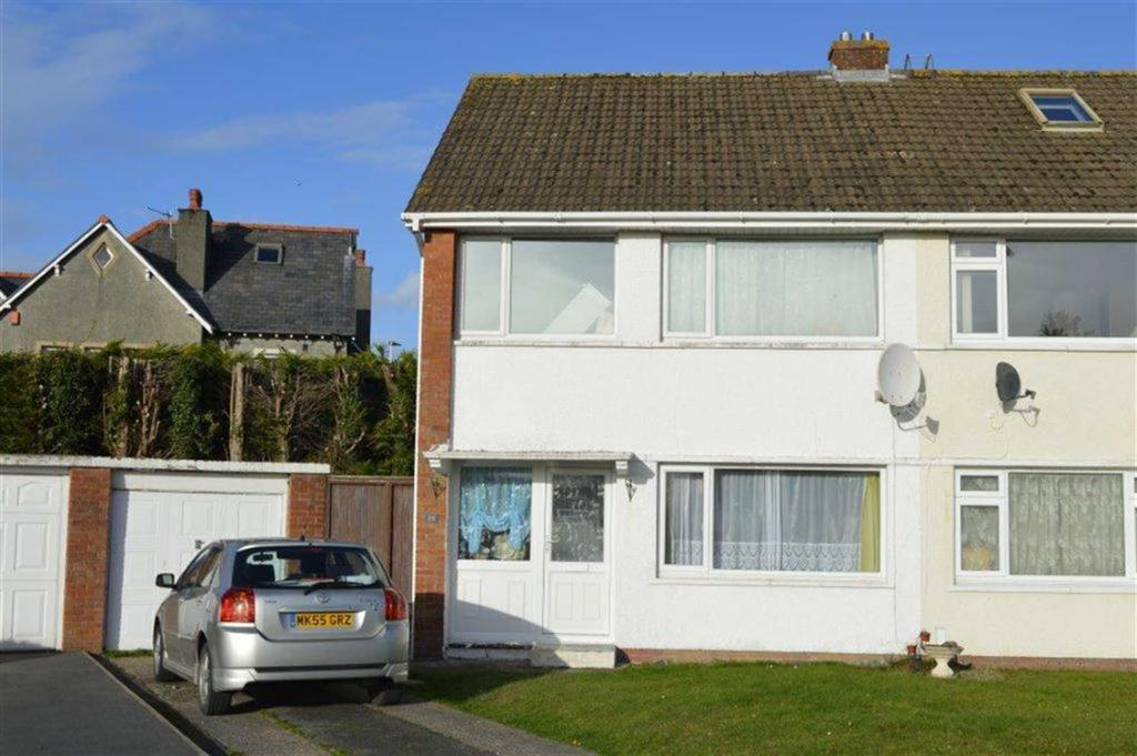 3 Bedrooms Semi Detached House for sale in 25, Erw Goch, Waunfawr, Aberystwyth, SY23