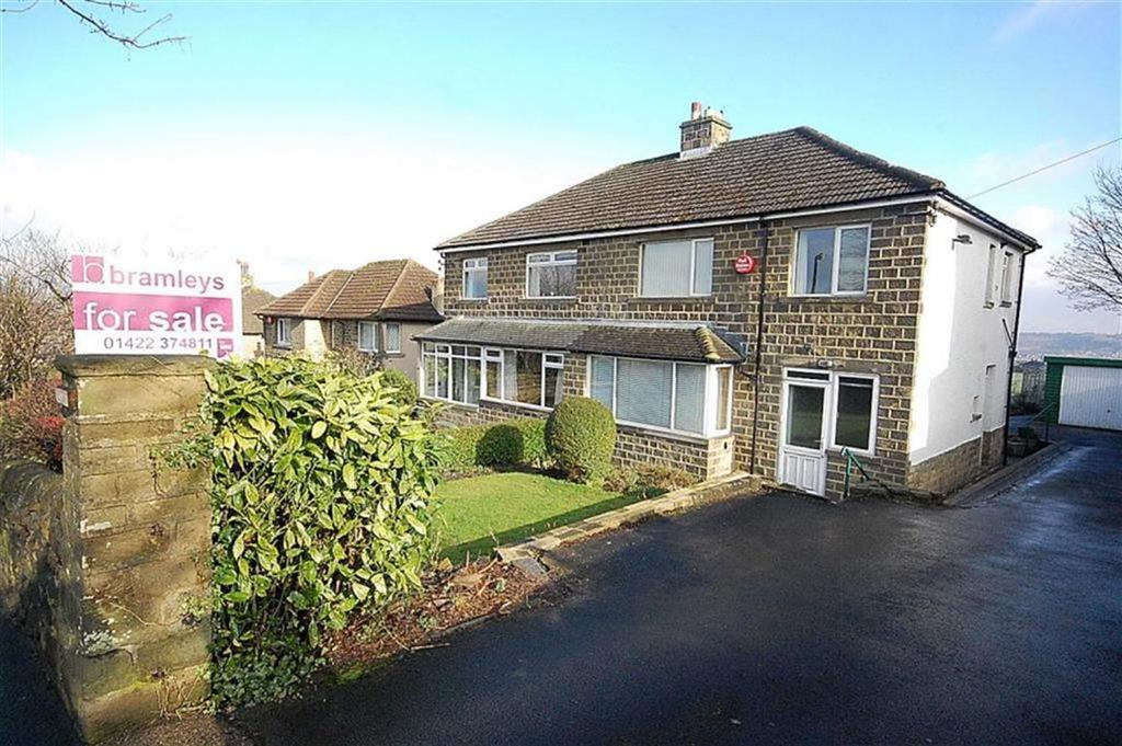 3 Bedrooms Semi Detached House for sale in Blackley Road, Elland, HX5