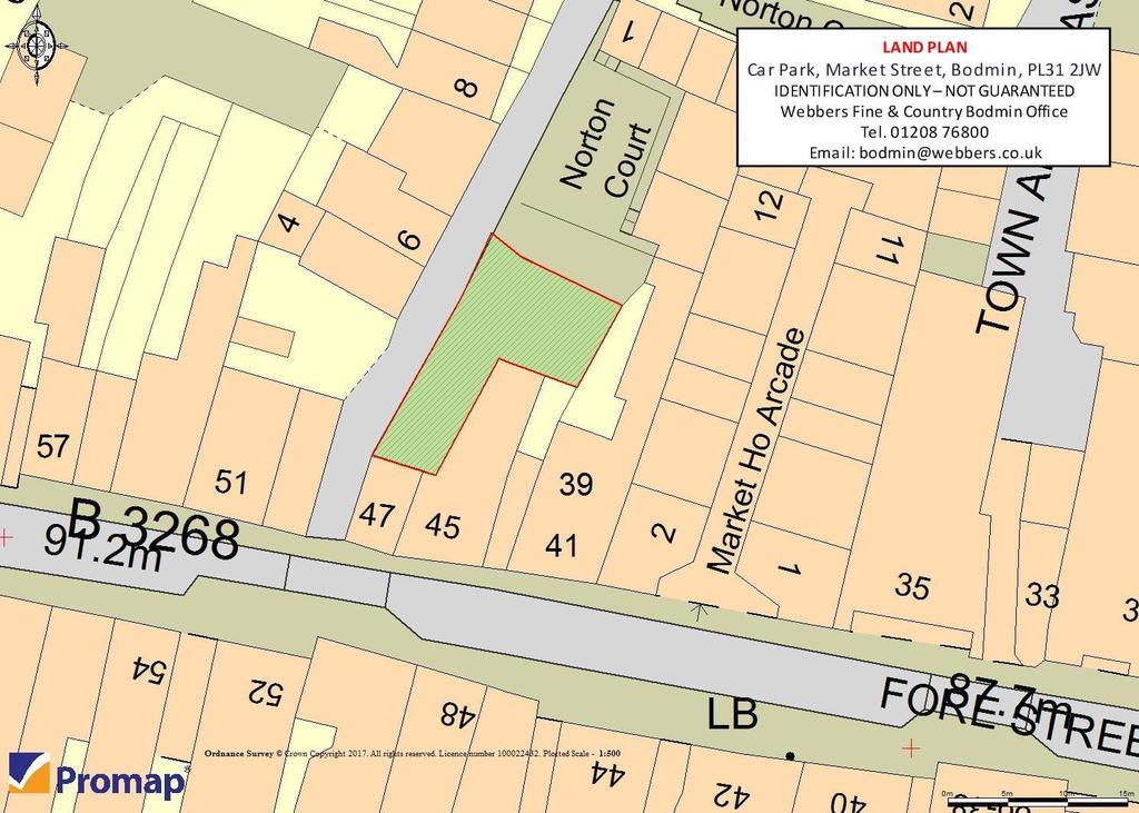 Land Commercial for sale in Market Street, Bodmin
