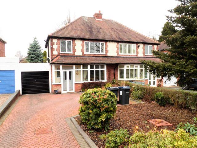3 Bedrooms Semi Detached House for sale in Jockey Rd,Sutton Coldfield,