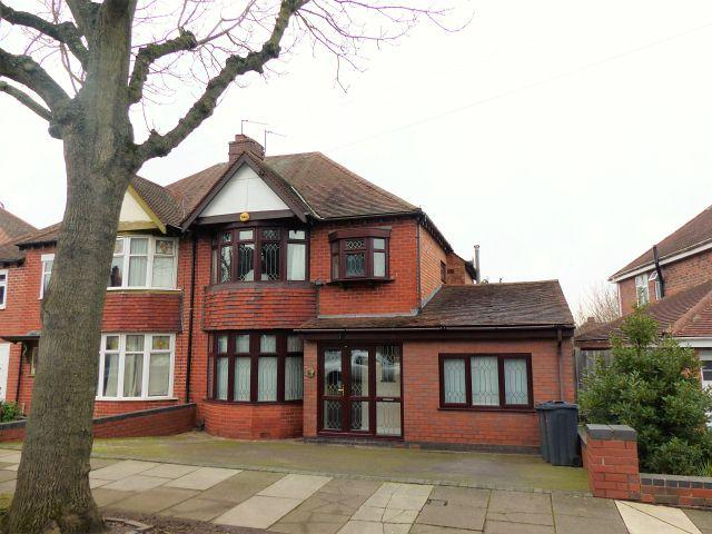 4 Bedrooms Semi Detached House for sale in Worlds End Road,Handsworth Wood,Birmingham