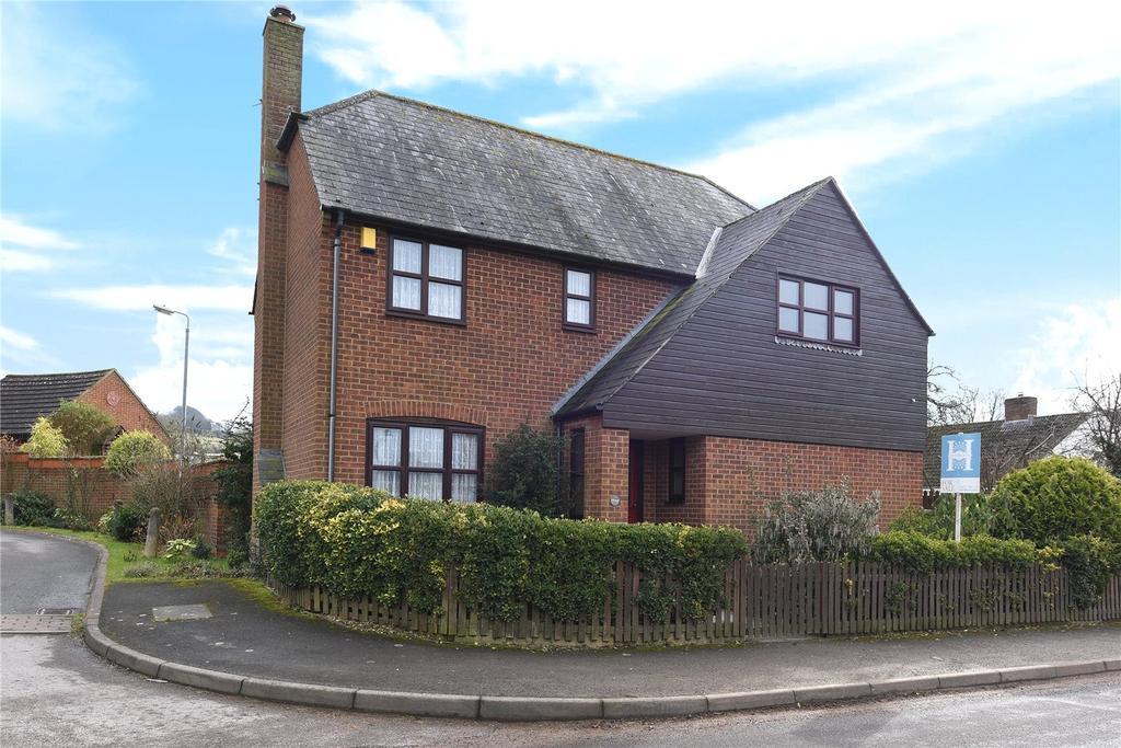 4 Bedrooms Detached House for sale in Marlborough Road, Ogbourne St. George, Marlborough, Wiltshire