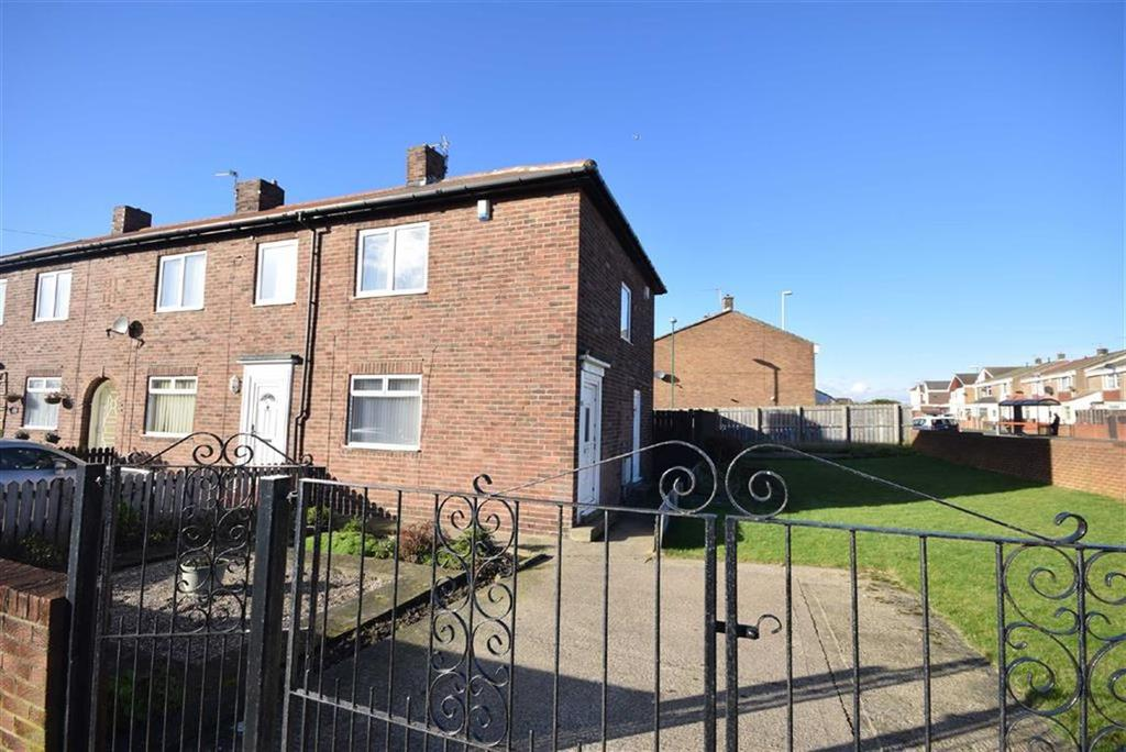 2 Bedrooms End Of Terrace House for sale in St Cuthberts Avenue, South Shields