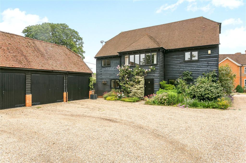 5 Bedrooms Detached House for sale in Manor Farm, Wanborough, Guildford, Surrey, GU3