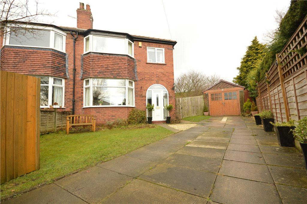 3 Bedrooms Semi Detached House for sale in Tinshill Grove, Cookridge, Leeds