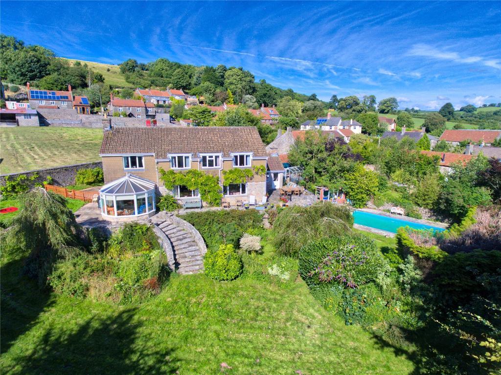 5 Bedrooms House for sale in West Horrington, Wells, Somerset, BA5