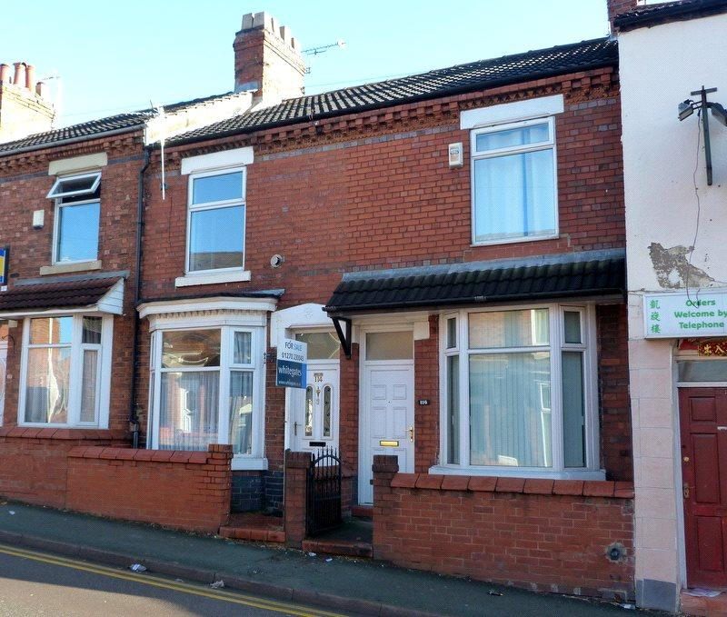 2 Bedrooms Terraced House for sale in Flag Lane, Crewe, Cheshire, CW2