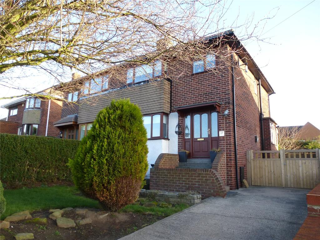 3 Bedrooms Semi Detached House for sale in Warner Road, Pogmoor, Barnsley, South Yorkshire, S75