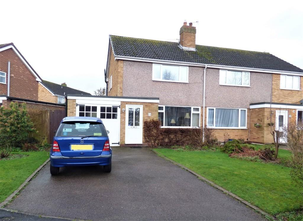 2 Bedrooms Semi Detached House for sale in Jackson Road, Lichfield