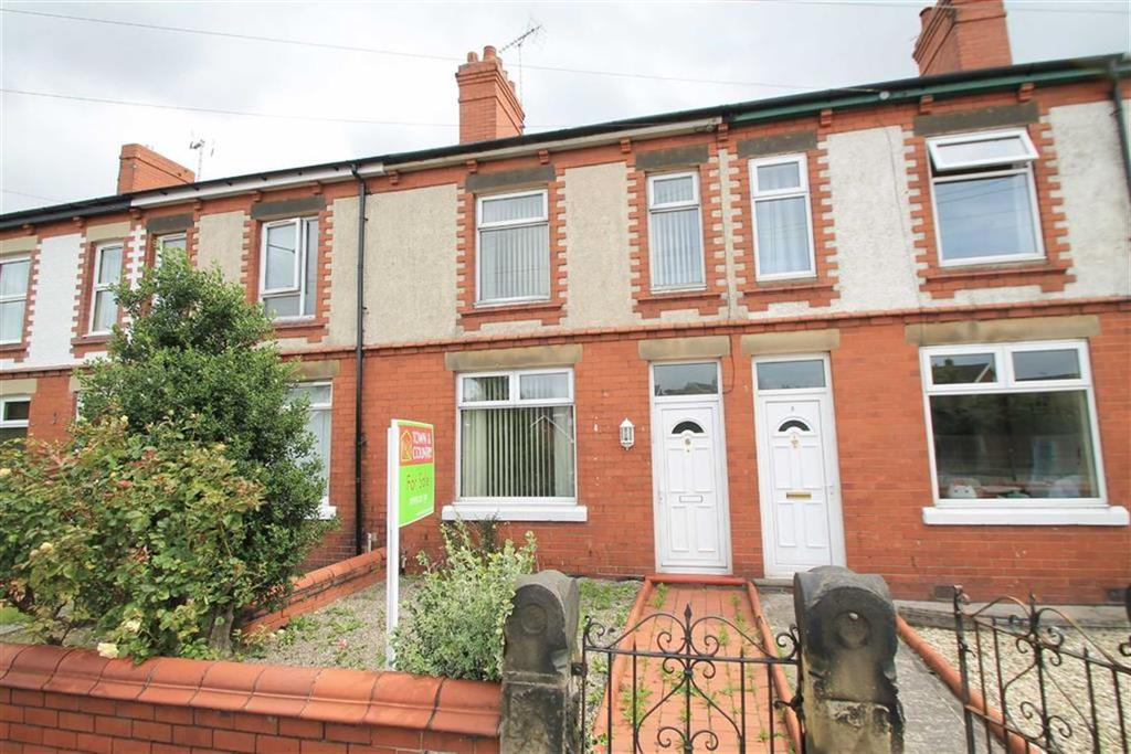 2 Bedrooms Terraced House for sale in Broxton Terrace, Wrexham, Wrexham