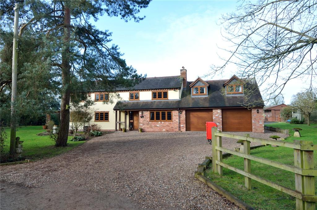 5 Bedrooms Detached House for sale in Holberrow Green, Worcestershire