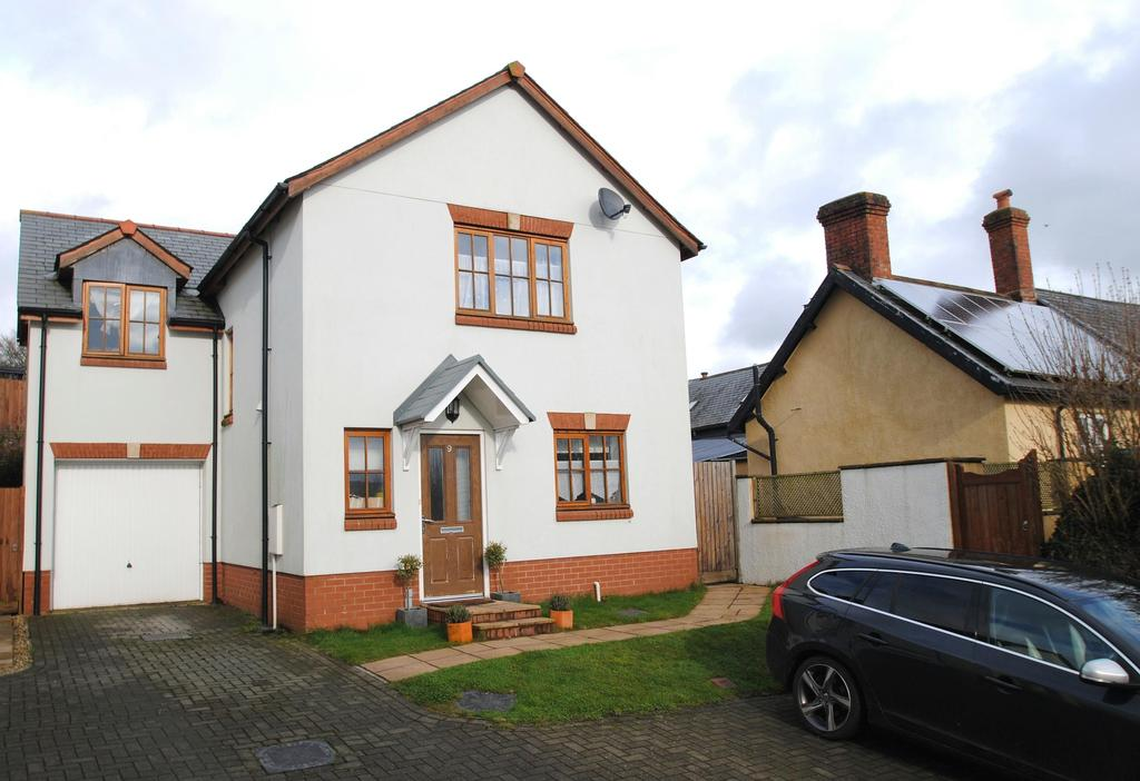 4 Bedrooms Detached House for sale in West Rock Drive, Bishops Nympton