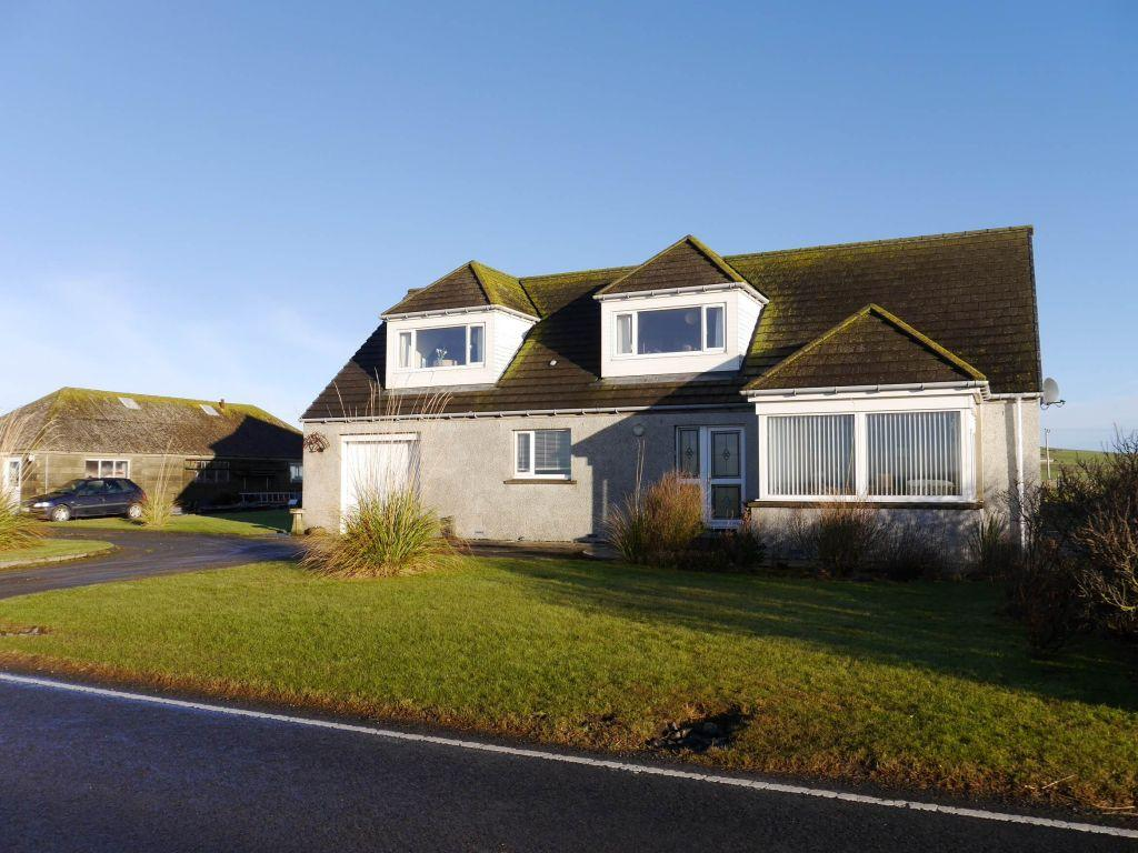 5 Bedrooms Garages Garage / Parking for sale in Greenfield, Dounby, Orkney