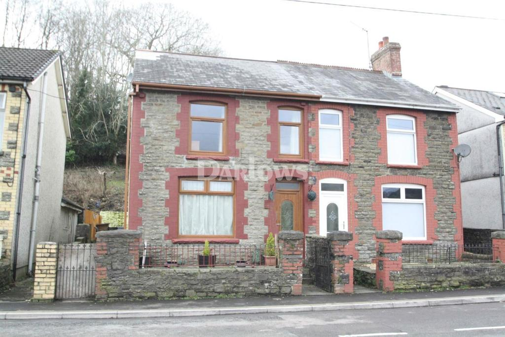3 Bedrooms Semi Detached House for sale in New Road, Blackwood