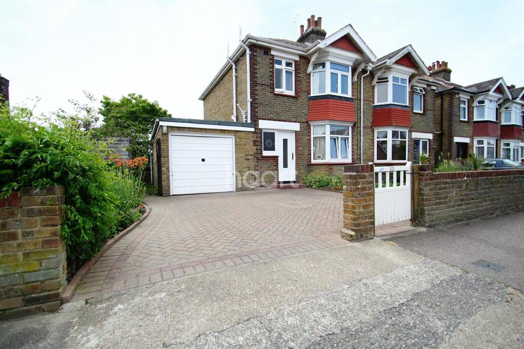 3 Bedrooms Semi Detached House for sale in Fair Street ,Broadstairs,CT10