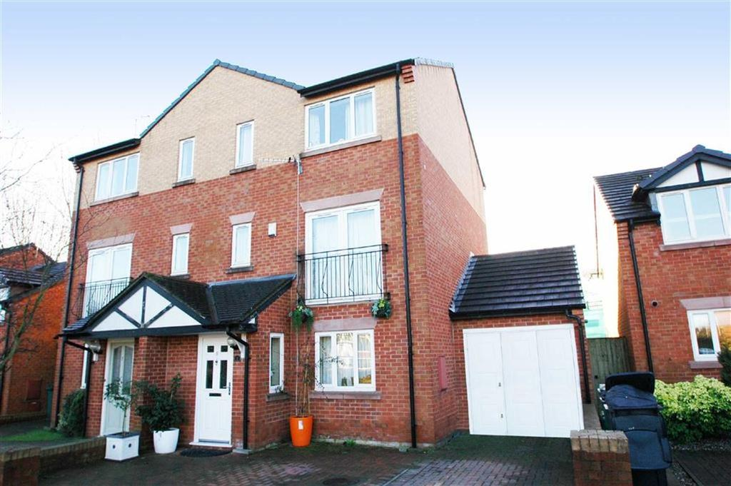 4 Bedrooms Semi Detached House for sale in Chesterton Court, Chester