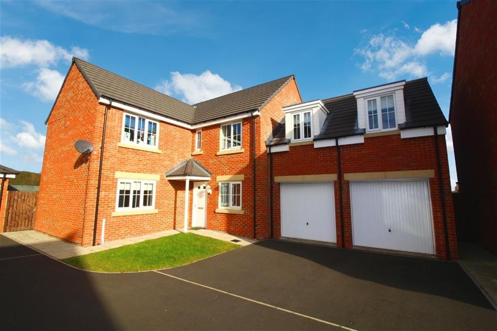 5 Bedrooms Detached House for sale in Lodge Court, Whitley Bay