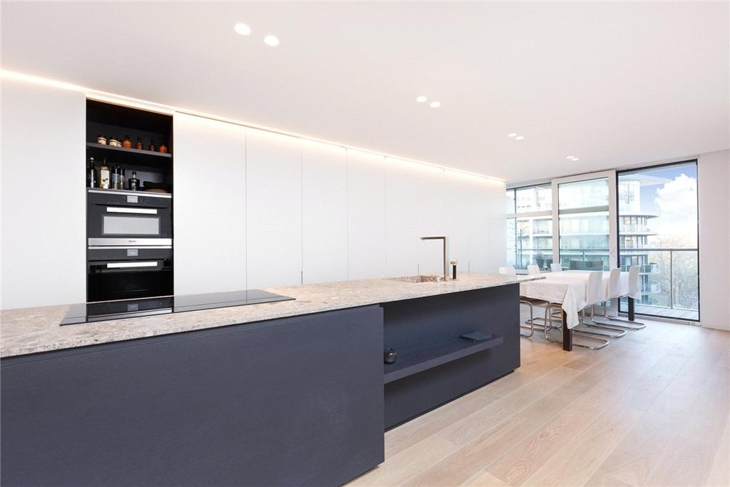 3 Bedrooms Penthouse Flat for sale in Howard Building, Chelsea Bridge Wharf, 368 Queenstown Road, London, SW8