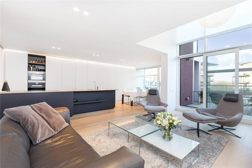 3 Bedrooms Penthouse Flat for sale in Howard Building, 368 Queenstown Road, London, SW8