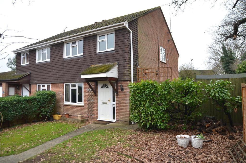 3 Bedrooms Semi Detached House for sale in Devonshire Gardens, Tilehurst, Reading, Berkshire, RG31