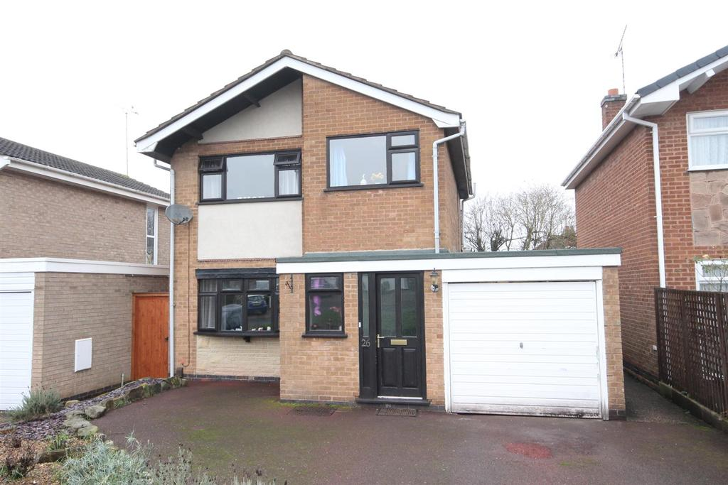3 Bedrooms Detached House for sale in Dean Close, Littleover, Derby