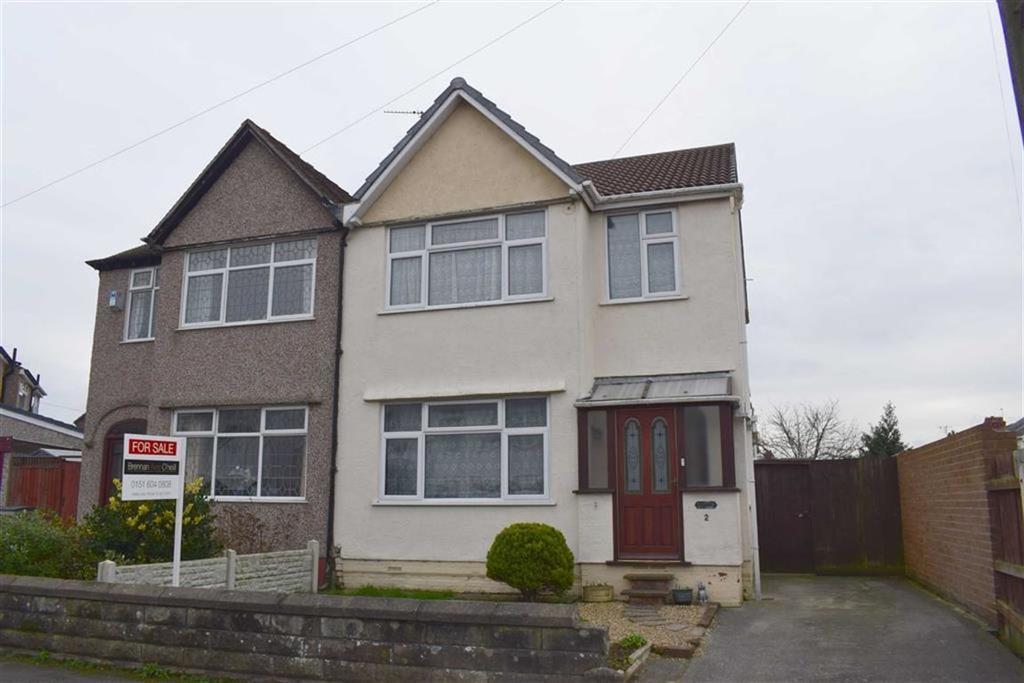 3 Bedrooms Semi Detached House for sale in The Paddock, CH46