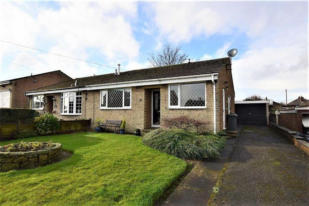 2 Bedrooms Semi Detached Bungalow for sale in Rishworth Avenue, Emley, Huddersfield, HD8