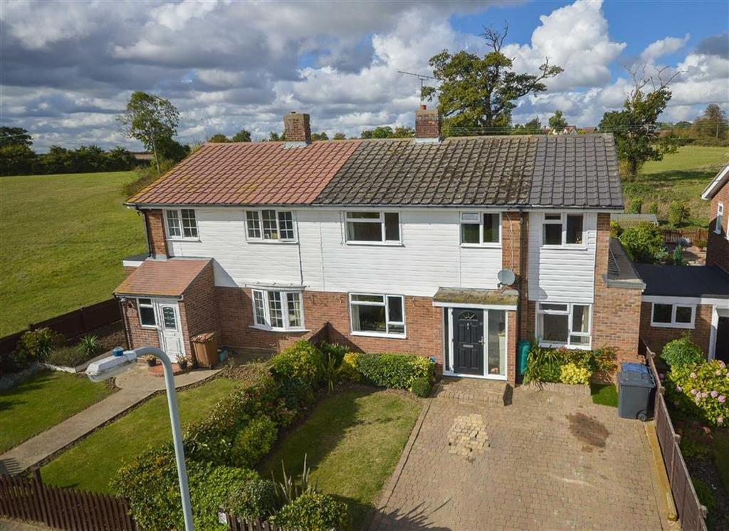 4 Bedrooms Semi Detached House for sale in Appleton Avenue, Wareside, Nr Ware, Hertfordshire, SG12