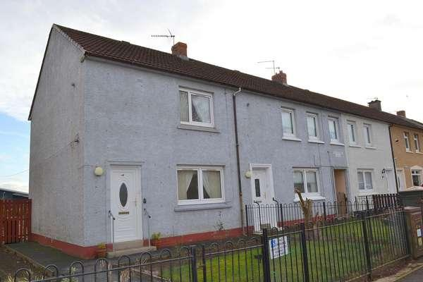 2 Bedrooms End Of Terrace House for sale in 28 Hazelwood Drive, Blantyre, Glasgow, G72 9PY