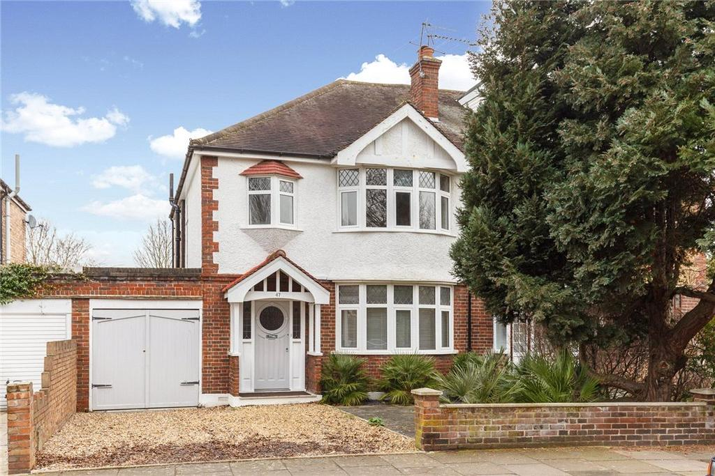 3 Bedrooms Semi Detached House for sale in Grove Park Gardens, London, W4