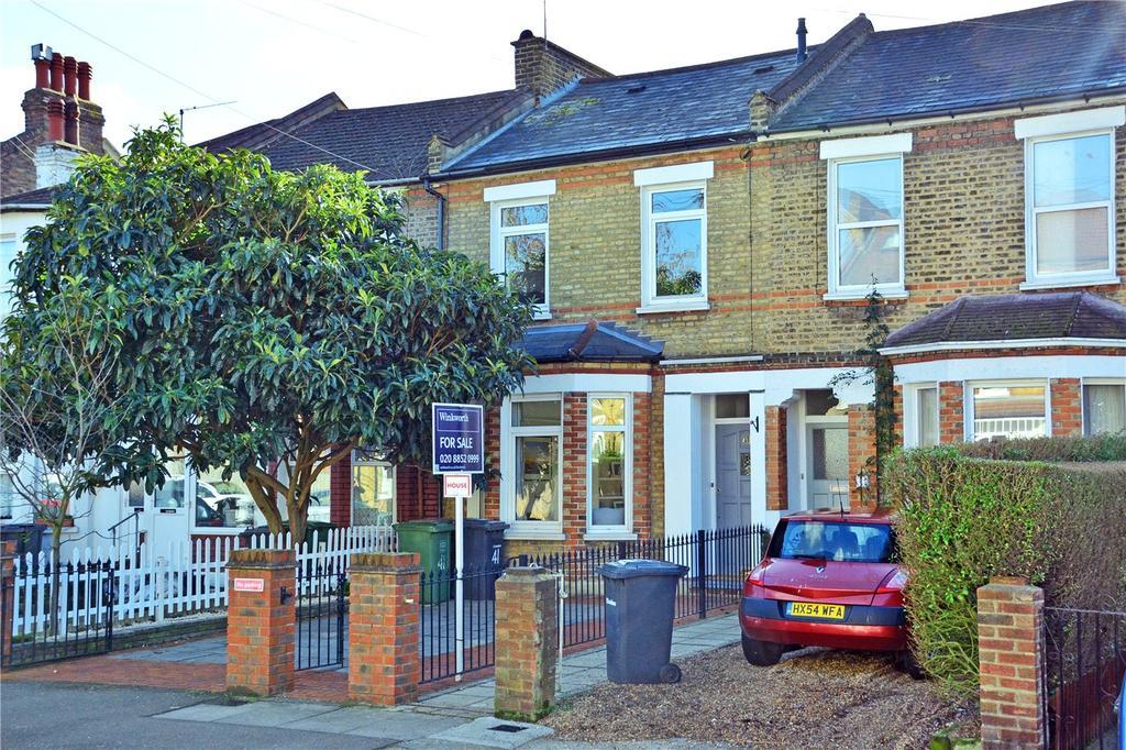 3 Bedrooms Terraced House for sale in Lampmead Road, Lee, London, SE12