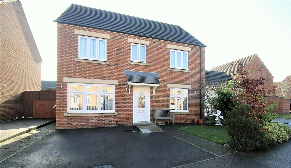 4 Bedrooms Detached House for sale in Red Admiral Close, Stockton-On-Tees