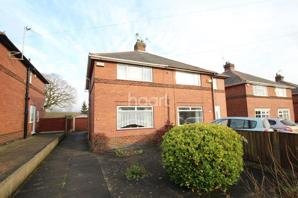 2 Bedrooms Semi Detached House for sale in Annesley Road, Hucknall
