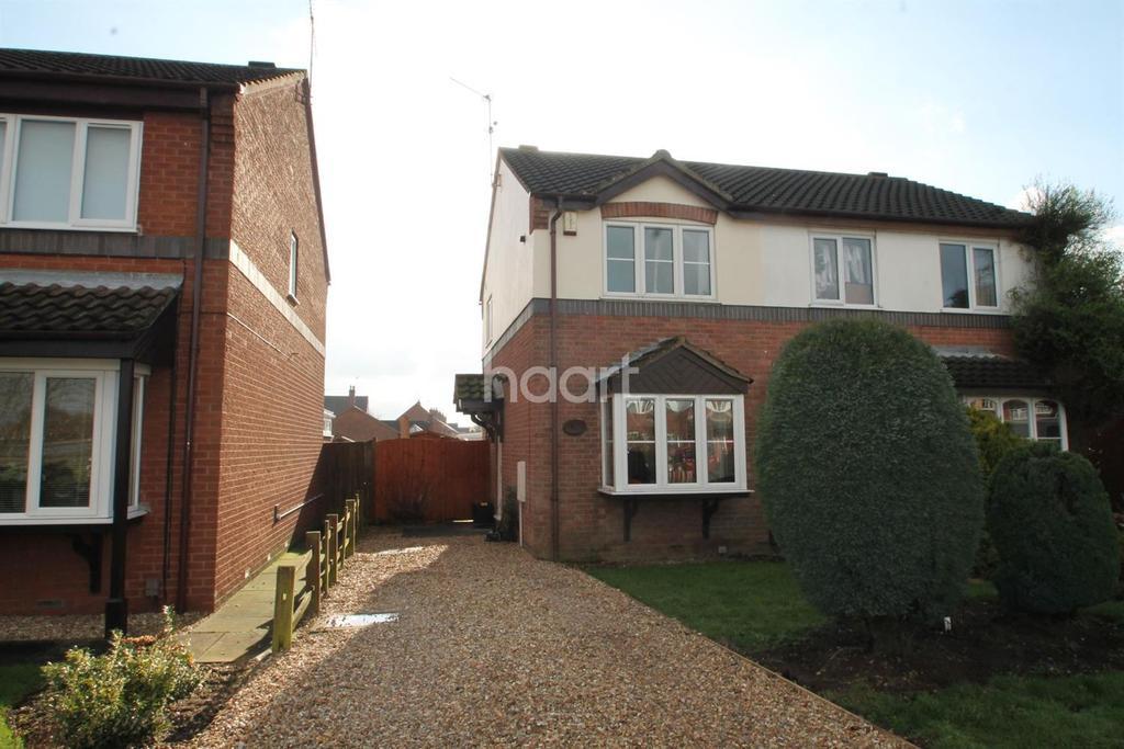 2 Bedrooms Semi Detached House for sale in Catkin Way, Balderton