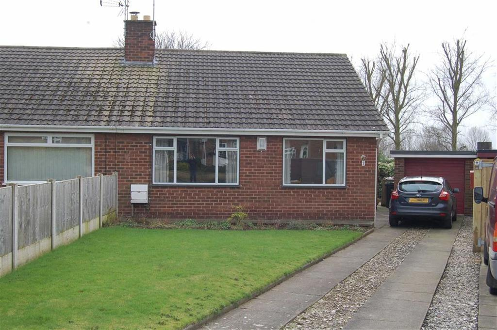 2 Bedrooms Semi Detached Bungalow for sale in Highfield, Elton, Chester