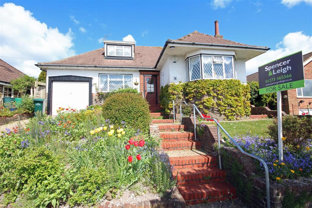 3 Bedrooms Detached Bungalow for sale in Redhill Drive, Withdean, Brighton