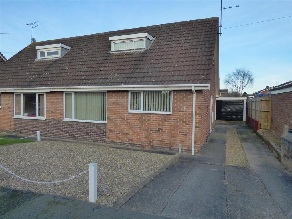 3 Bedrooms Semi Detached Bungalow for sale in 14 St. Pauls Drive, Tickton, Beverley, East Yorkshire, HU17 9RN