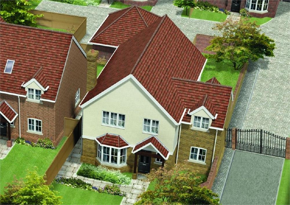 4 Bedrooms Detached House for sale in Unit 1, St James Gate, St James Lane, Horns Cross, Greenhithe